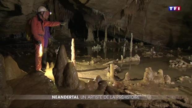 La découverte est exceptionnelle : Neandertal décorait les grottes
