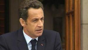 Nicolas Sarkozy en Irlande (21 juillet 2008)