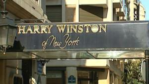 TF1 /LCI La boutique Harry Winston, située avenue Montaigne à Paris