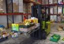 Banque alimentaire: les bénévoles se préparent avant la collecte annuelle