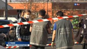 Des policiers à Toulouse.