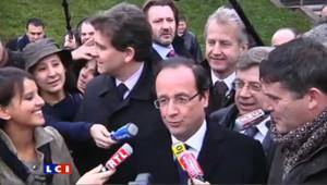 """Hollande : """"dans la réaction à une politique qui échoue"""""""