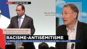 Marseille : Hollande hausse le ton face à l'antisémitisme et tacle le FN