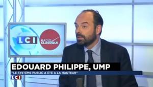 """Edouard Philippe : """"L'interprétation politique n'a pas d'importance au regard des enjeux posés aujourd'hui"""""""