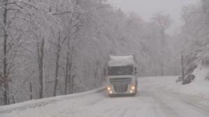 La Haute-Corse sous la neige, ce lundi 15 février 2015