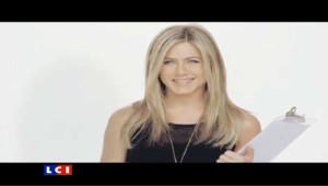 La sex tape de Jennifer Aniston pour une publicité virale pour une eau minérale