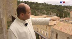 Le 13 heures du 31 mars 2015 : L'Abbaye Lagrasse abrite des chanoines experts en production de vin et d'huile d'olive - 2203.711