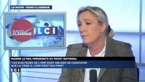 """Le FN espère """"1000 conseillers municipaux"""" selon Le Pen"""