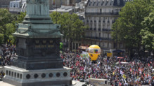 Manifestation à Bastille, 23/6/16