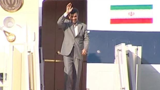 ahmadinejad liban arrivée