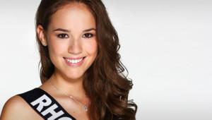 Aurore Thibaud, Miss Rhône-Alpes 2014, prétendante au titre de Miss France 2015