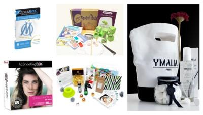 Fan de foot, petit scientifique, reine de beauté ou des fourneaux : il y a une box pour chacun !