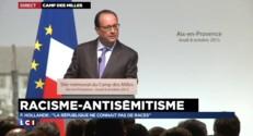 """François Hollande : """"Il y a des peurs en France, la réponse c'est l'unité de la nation"""""""