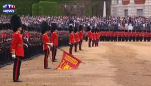 Grande-Bretagne : traditionnelle parade pour l'anniversaire de la reine Elizabeth
