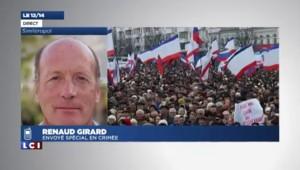 """Indépendance de la Crimée : """"une déclaration similaire à celle du Kosovo"""""""