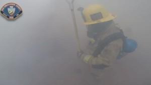 Californie : Pompier, caméra embarquée (05/08)