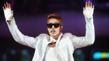 Justin Bieber en concert à Brooklyn (août 2013)