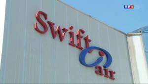 Le 20 heures du 24 juillet 2014 : Vol AH5017 : la Swift Air d�ss�par les �nements - 858.5775467834472