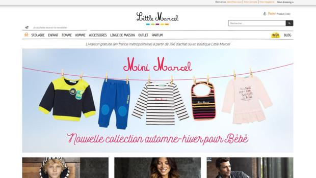 Le site de la marque Little Marcel