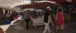 Le soleil fait son grand retour au marché de Florac