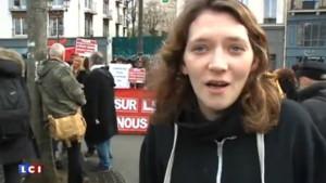 Prostituées manifestation Paris 28/03/2015