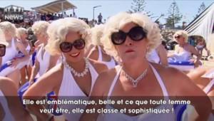 Une nuée de Marilyn Monroe débarque sur les plages australiennes pour la bonne cause