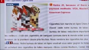 Vente de cigarettes sur internet : 400 millions d'euro en moins pour l'Etat