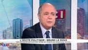 """Bruno Le Roux : """"Je suis fier en tant qu""""homme de gauche de la façon dont le Président a conduit ce pays"""""""