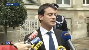 """Hausse de la délinquance en octobre, Valls parle de """"manipulations"""""""