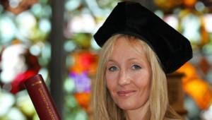 J.K. Rowling, l'auteur des aventures de Harry Potter, en 2006