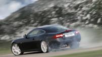 Jaguar XKR : en action