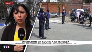Attentats : important déploiement policier en cours à Etterbeek en Belgique