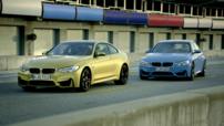 BMW M3 Berline et M4 Coupé 2014 sur le circuit de Laguna Seca