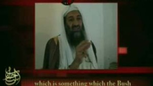 capture écran message internet Ben Laden sur Moussaoui