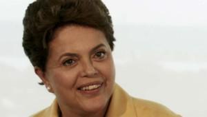 Dilma Rousseff, la présidente du Brésil