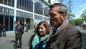 Edouard Martin sous le charme de Christiane Taubira au rassemblement des jeunes socialistes