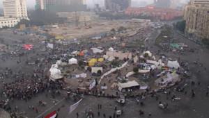 Egypte : manifestation place Tahrir au Caire, 23/11/11