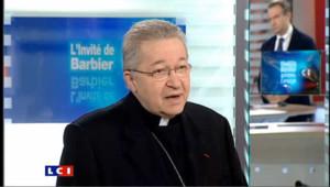 LCI - Monseigneur André XXIII est l'invité politique de Guillaume Roquette