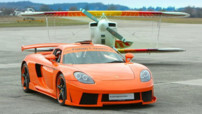 photo tuning Porsche carrera GT
