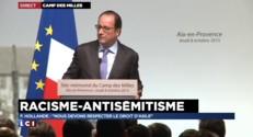 """François Hollande : """"Nous devons respecter le droit d'asile"""""""