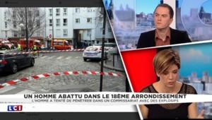 L'homme abattu devant un commissariat à Paris muni d'un gilet peut-être explosif