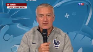"""Le 20 heures du 14 juin 2014 : Mondial 2014 : Deschamps et les Bleus """"attendent tous"""" le d�t de leur comp�tion - 323.4750000000001"""