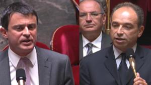 Manuel Valls et Jean-François Copé