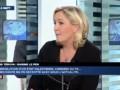 """Marine Le Pen : Nicolas Sarkozy """"a une image de has been"""""""