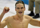 Yannick Agnel sacr champion olympique du 200 m nage libre, le 30 juillet  Londres.