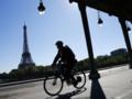 Cycliste à Paris