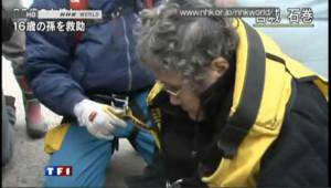 Deux miraculés sortis des décombres au Japon
