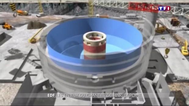 La centrale nucléaire d'Hinkley Point, le chantier pharaonique d'EDF