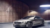 Le concept-car BMW Pininfarina Gran Lusso Coupé, présenté pour le Concours d'Elégance de Villa d'Este 2013.