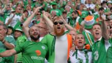 """Les Irlandais, les """"ambianceurs"""" de cet Euro 2016."""